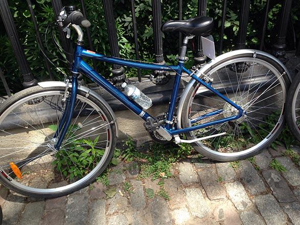 Post biketour bikes