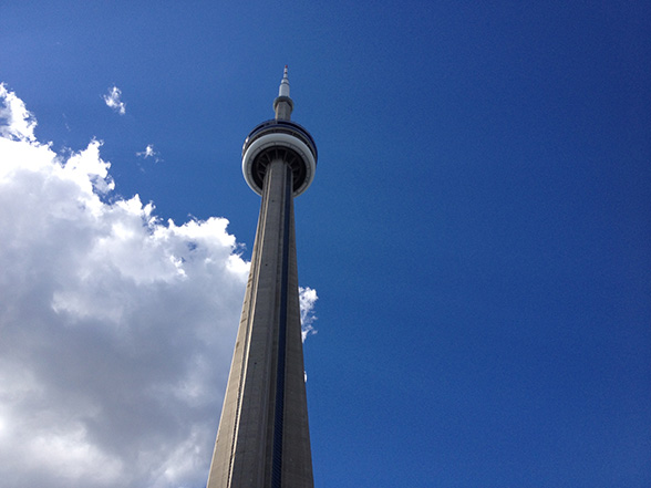 Biketour - CN Tower