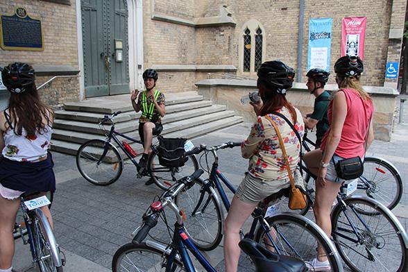 Post biketour - Groep