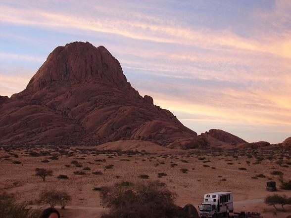 Kopjes kijken in Damaraland, Namibië.