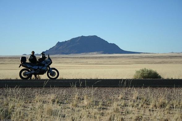 motorreis namibie