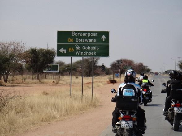 naar botswana