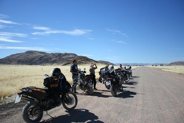 zuid-afrika namibie motorreis