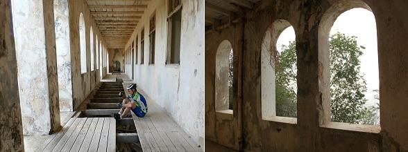 De mountainbiketour van Wannabike nam ons mee naar het quarantainegebouw