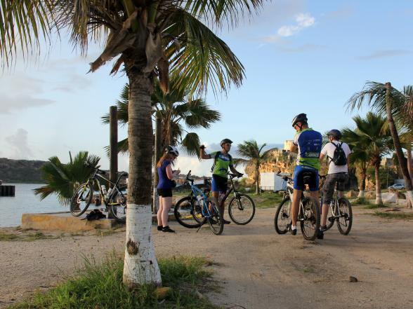 Mountainbiken op Curacao met Wannabike