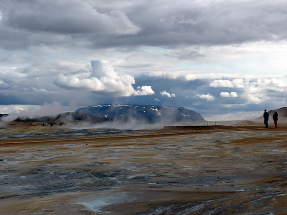 Geotherimisch gebied bij Myvatn
