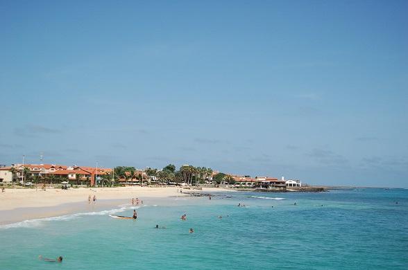 Santa Maria, toeristenbadplaats