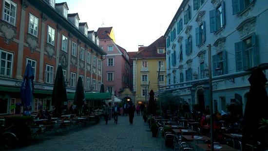 De gezellige straatjes van Graz