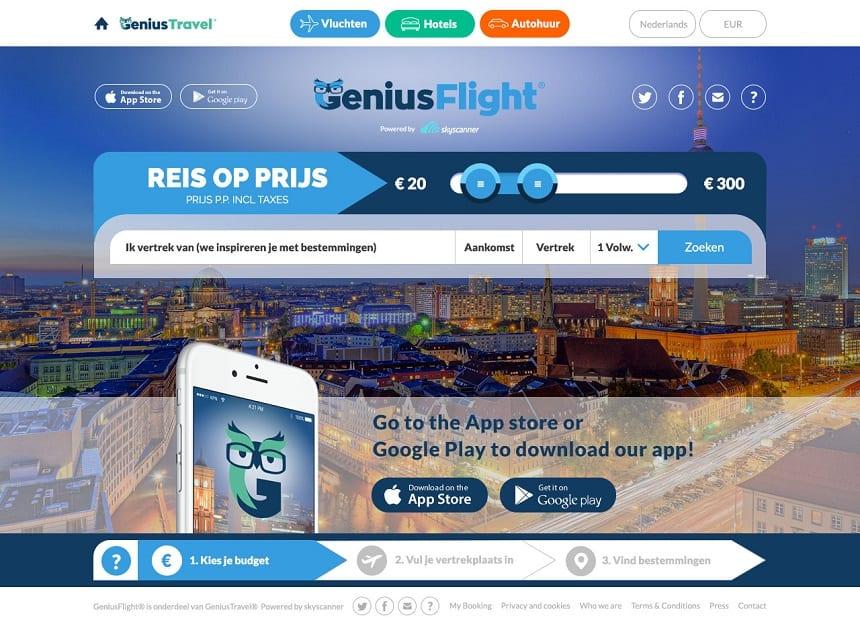 Lancering van GeniusFlight