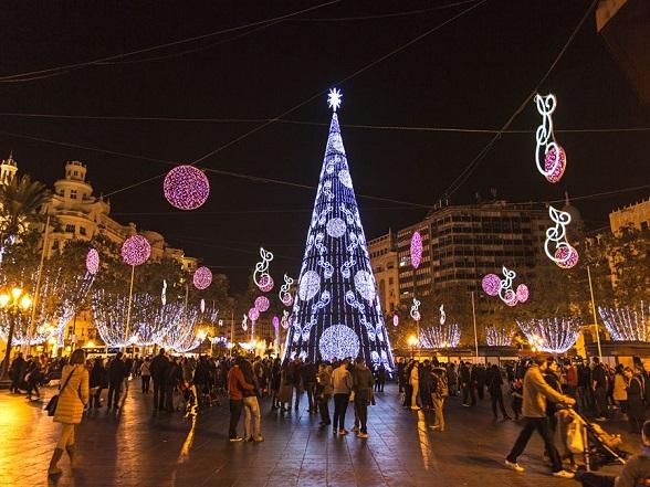 Kerst in Valencia