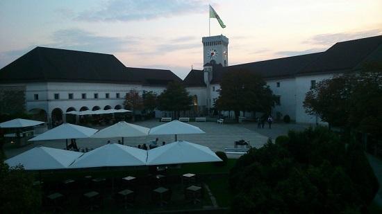 Ljubljanski grad, het kasteel van Ljubljana
