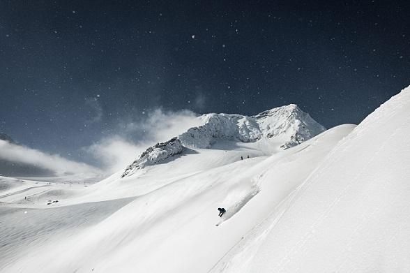 Freeriden op de Stubaier Gletscher