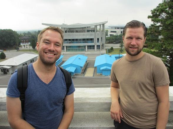 Caspar en Rik, oprichters van CultureRoad