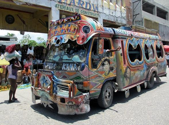 Tuk tuk Haiti