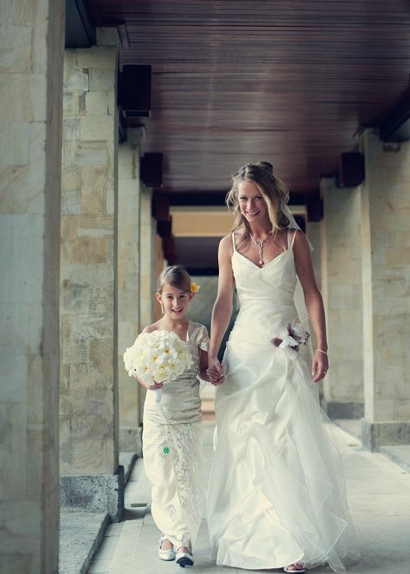 balinees bruidsmeisje