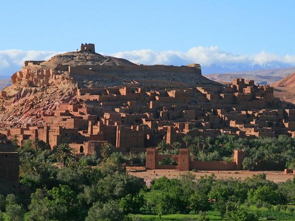 marokko kasbah