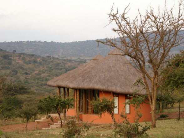 Amazing Kenya Retreat heeft rondavels in Afrikaanse stijl