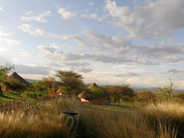 De Nederlandse Jan en Ditty bouwden een resort in de Afrikaanse savanne