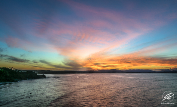 Zonsondergang Byron Bay