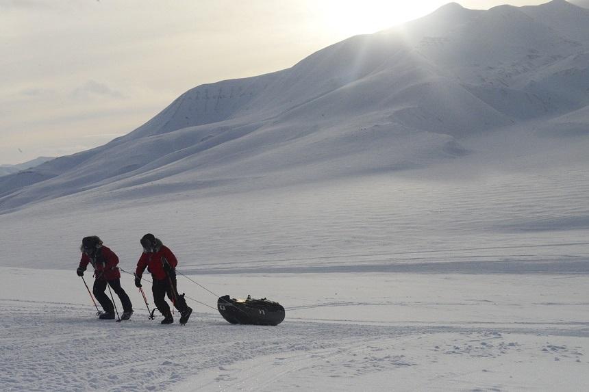 spitsbergen - in het spoor van dixie dansercoer