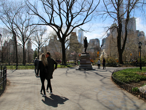 Central Park is een must see in New York!