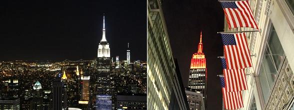 Welk observatieplatform je ook kiest, vanaf zowel Top of the Rock als het Empire State Building is het uitzicht over New York fantastisch!