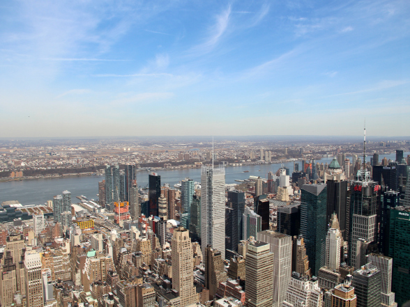 'On top of the world', zo voel je je bovenop het Empire State Building in New York