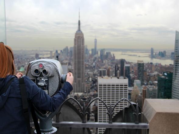 Het uitzicht over New York vanaf Top of the Rock is fantastisch!