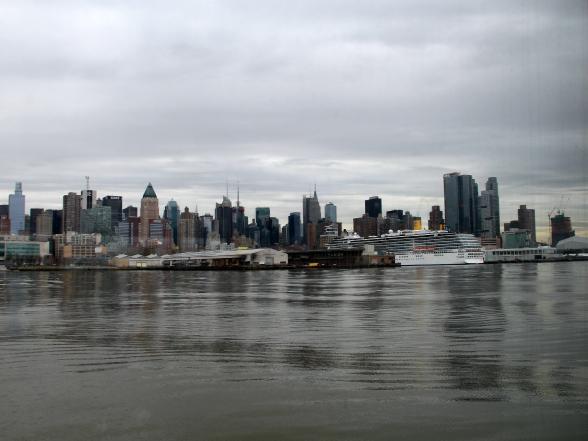 Midtown Manhattan, New York, gezien vanaf de Hudson River