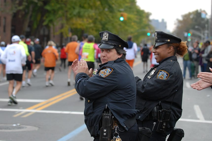 New York City Marathon politie