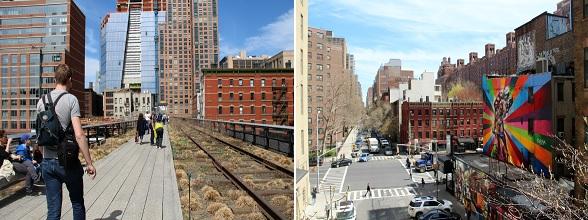 Aanrader: een wandeling over de High Line, een park op een voormalige, verhoogde spoorweg