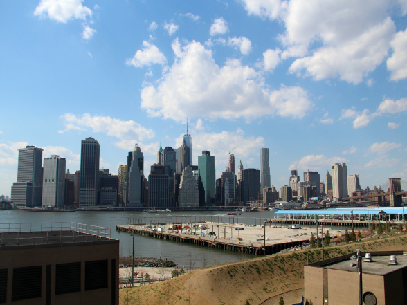 Volgens sommige New Yorkers biedt de Brooklyn Heights Promenade het beste uitzicht op de skyline