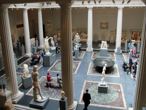 Het Metropolitan Museum of Art, vlakbij Central Park, is één van de grootste kunstmusea ter wereld