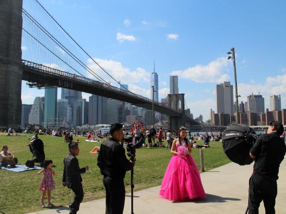 DUMBO is één van de leukste wijkjes van New York