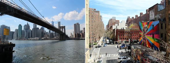 De Brooklyn Bridge: één van de iconen van New York City.