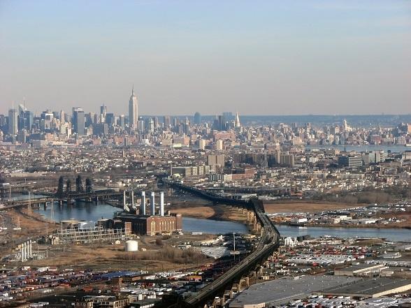 Newark Airport view