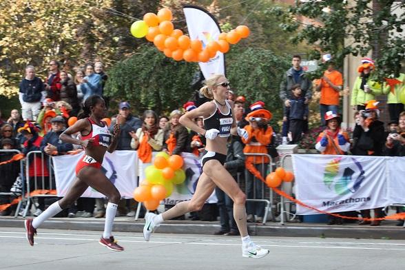 Paula Radcliffe 2007 ING New York City Marathon