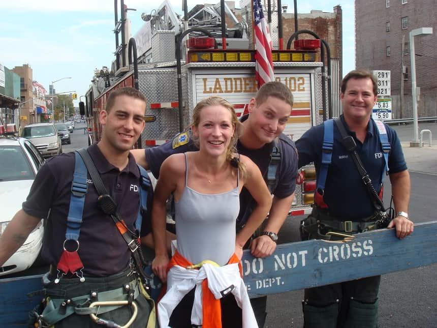 New York City Marathon brandweer