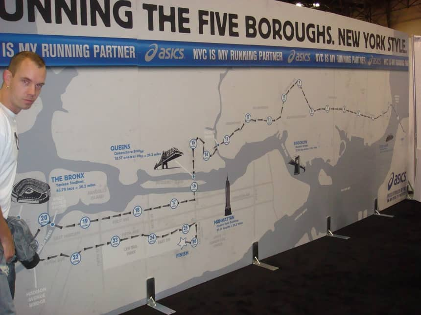 Running the five boroughs, New York Style