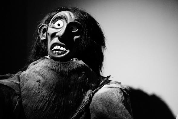 Carnaval wordt in Slovenië gevierd met uit hout gesneden maskers en kostuums gemaakt met stro, veren en zelfs dennentakken.