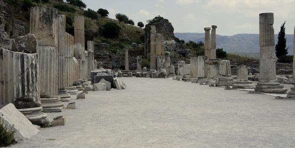 De stad Efesus is een van de bekendste, maar zeker niet de enige, historische sites in Turkije.