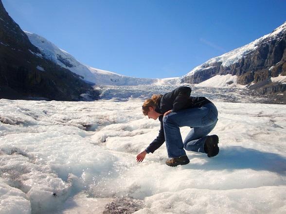 canada gletsjer ijsklimmen