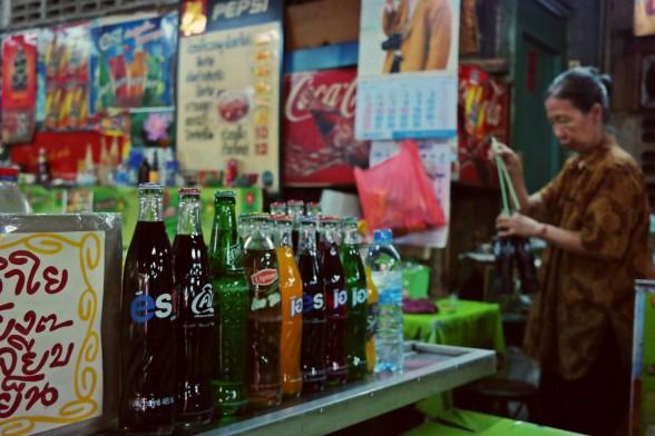 Frisdrank in Bangkok