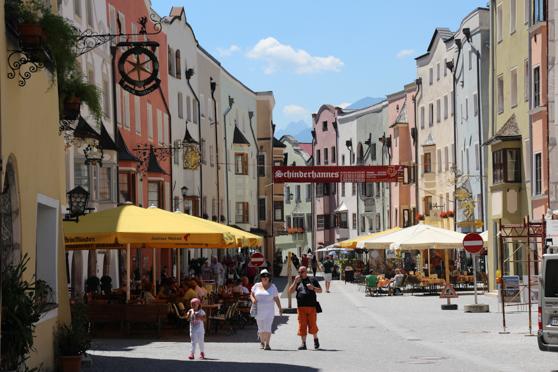 De hoofdstraat van Rattenburg