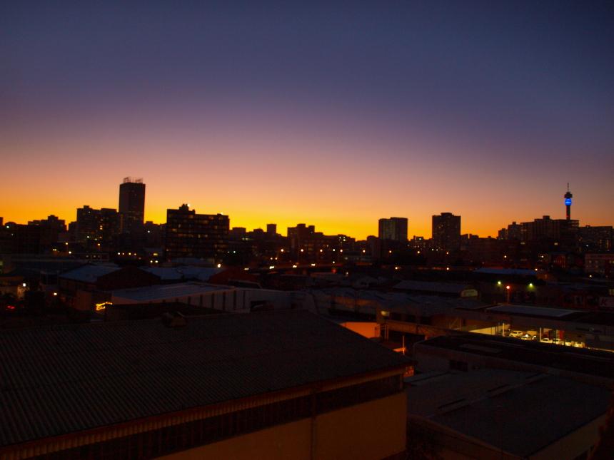Uitzicht Johannesburg 2 medium