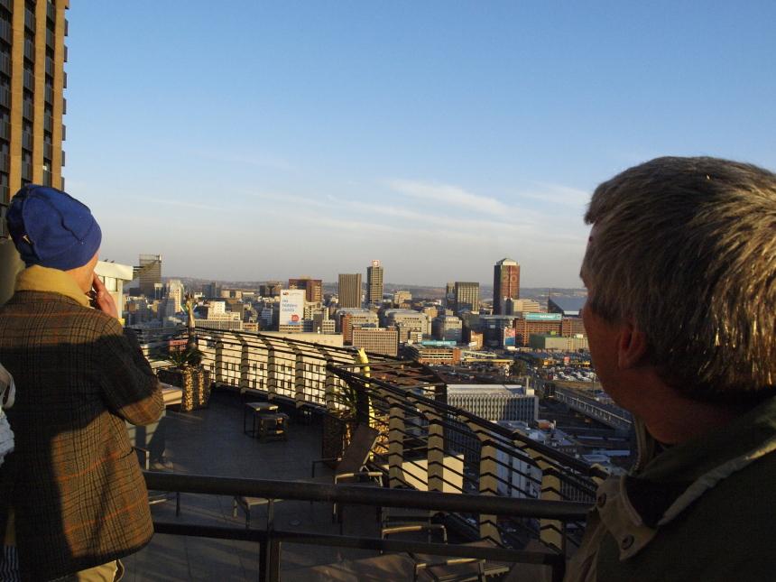 Uitzicht Johannesburg medium