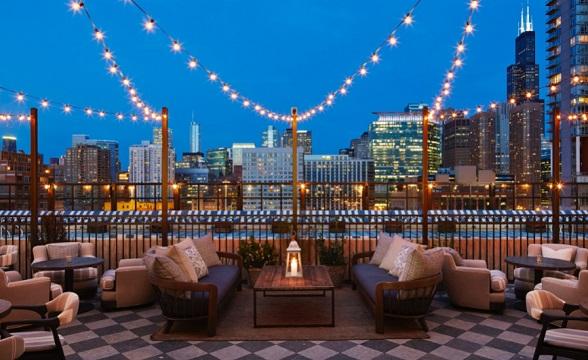 Azure Hotel Rooftop SohoHouse