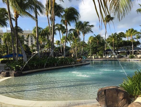 zwembad hilton aruba