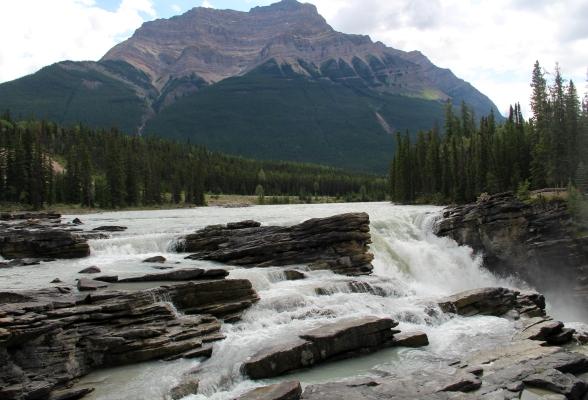 Athabasca Falls Jasper Canada