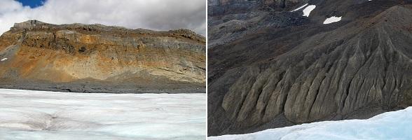 De Athabasca Glacier in Canada